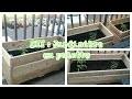 DIY : jardinière en palette