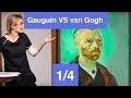 Gauguin Vs van Gogh, Le ténébreux contre le lumineux