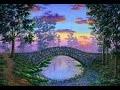 Comment Peindre Le Pont de Pierres A L'Acrylique. Cours Complet 4k