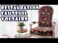 RESTAURATION EXTRÊME D'UN FAUTEUIL VOLTAIRE [ TUTO ]