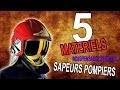 5 Matériels indispensables chez les SAPEURS- POMPIERS