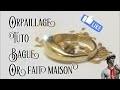 Fabrication d une bague avec sa récolte d'orpailleur #How to Make a Ring gold panning
