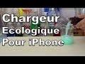 Energie gratuite pour iPhone - Chargeur écologique pour iPhone. Energie libre