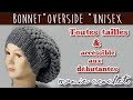 Comment faire un bonnet large overside au crochet  pas à pas, tuto, diy rasta, beanie