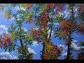 Comment Peindre Les Arbres En Automne A L'Aide De L'Acrylique Sur La toile