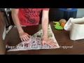 Fabriquer un contenant en papier journal  - Collecte des résidus alimentaires