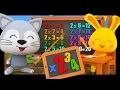 Les tables de multiplications par 2 3 et 4 en chansons pour les enfants - Titounis