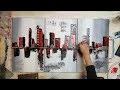 BecomeTheArtist.com - DIY Peinture acrylique : Toile Ville