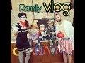 Peinture & Déguisement ! Family Vlog