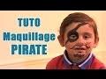 Carnaval : réaliser un maquillage de pirate
