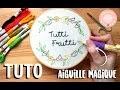 TUTO - BRODERIE AVEC L'AIGUILLE MAGIQUE