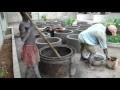 Fabrication de buses pour habillage d'un puits....