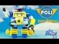 ROBOCAR POLI Action Pack Poli Plongeur Robot Transformable 로보카�리 Jouet Toy Unboxing