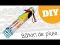 DIY - Bâton de pluie indien (Tutoriel 10 Doigts)
