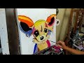 "TUTO ""Chihuahua"" POP ART par nelly lestrade"