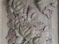 Sculpture sur bois - Fleurs d'anniversaire (nouvelle version plus complète)