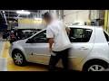 Tuto démontage baguettes de porte AV + AR  Clio 3/disassembly front and rear door portection Clio 3