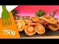 Recette des Palmiers au sucre - 750g