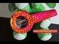 fabriquer une mini guitare à partir de récupération