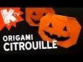 Origami citrouille Halloween 🎃