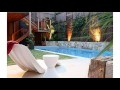 Petit jardin de piscines