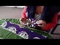 Comment fabriquer une fleur en tissu wax