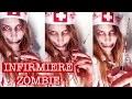 Maquillage Zombie / Zombie Makeup