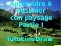 [Tutoriel] Comment dessiner un paysage Partie I | How draw a landscape part I [HD]