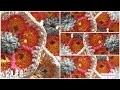 FLEURS AFRICAINES AU CROCHET / CROCHET AFRICAN FLOWER / FLOR AFRICANA DE CROCHÊ