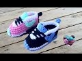 Baskets Nike bébé crochet 2/3 / Nike sneakers crochet (english subtitles)