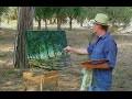 Les oliviers Peinture à l'huile PRÉSENTATION EXCEPTIONNELLE