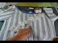 COUTURE FACILE RECUP☆  Tuto ☆Transformation d'une chemise homme  en tunique féminine et estivale