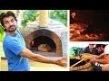 Four à pizza en briques : construction