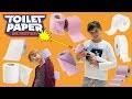 PQ CHALLENGE • UN NERF À PAPIER TOILETTE - Studio Bubble Tea Toilet Paper TP Blasters