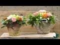 Art floral : DIY panier fleuri - Jardinerie Truffaut TV