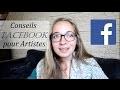 Conseils Facebook pour Artistes