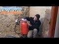 Test sableuse mobile à pression 40 litres