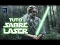 [PHOTOSHOP] : Un effet sabre laser comme dans STAR WARS - Tuto