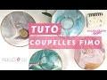 TUTO | Créer Un Vide Poche Coupelle Rond Pâte Polymère Fimo Cernit Effet Marbré