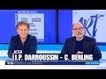 """Charles Berling & Jean-Pierre Darroussin : interview (6 mn) pour """"Art"""" au Théâtre Antoine (Paris)."""