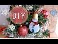 DIY Décoration de Noël : Bonhomme de neige - recyclage capsule de café original