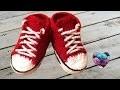Converse chaussures bébé crochet 2/2 / Converse all stars baby shoes crochet (english subtitles)