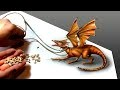 Comment dessiner un dragon réaliste ? [Tutoriel de dessin] [Speed-Drawing]