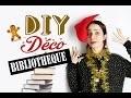 DIY déco de bibliothèque pour fauchés avec deux mains gauche