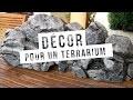 TUTO - FABRICATION D'UN DÉCOR POUR TERRARIUM