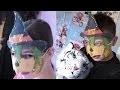 Fabriquer un masque d'Halloween | Activités manuelles avec les enfants