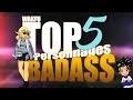 TOP 5 PERSONNAGES BADASS WAKFU LA SÉRIE