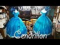 PROJET ROBE CENDRILLON - MAKING OF CINDERELLA'S DRESS