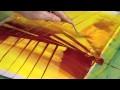 """Création en direct d'une peinture """"La flèche d'or"""" par l'Artiste peintre Yannick Le Quilleuc"""