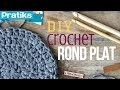 Crochet: Comment faire un rond plat ?